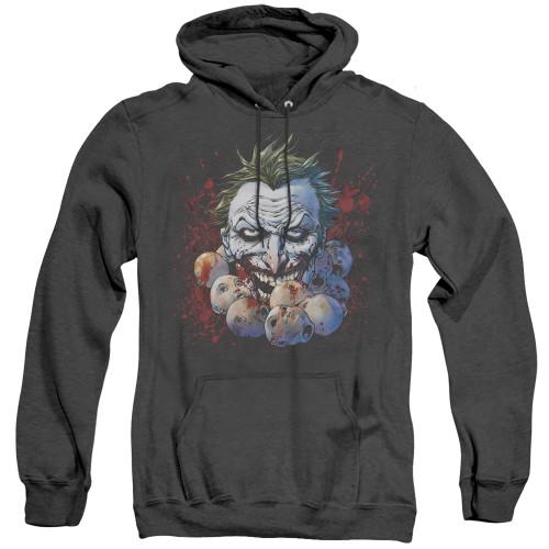 Image for Batman Heather Hoodie - Joker Doll Heads