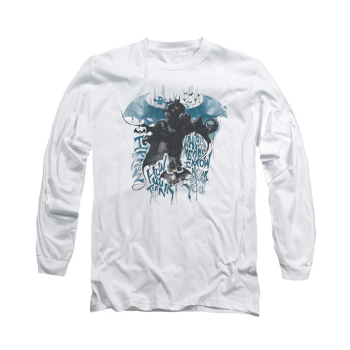 Image for Batman Arkham Knight Long Sleeve T-Shirt - I Know How You Think
