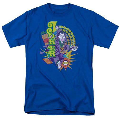 Image for Batman T-Shirt - Joker Raw Deal