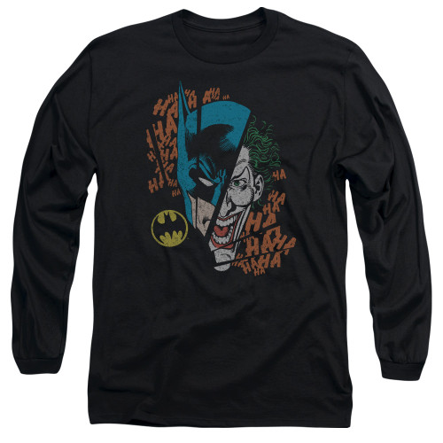 Image for Batman Long Sleeve T-Shirt - Joker Broken Visage