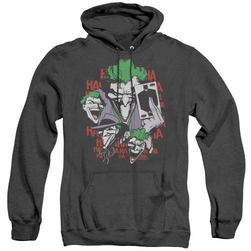 Image for Batman Heather Hoodie - Joker Four of a Kind
