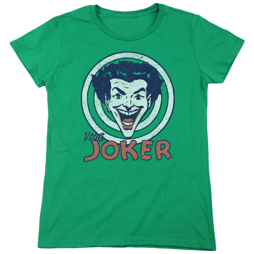 Image for Batman Womans T-Shirt - Joker Joke Target