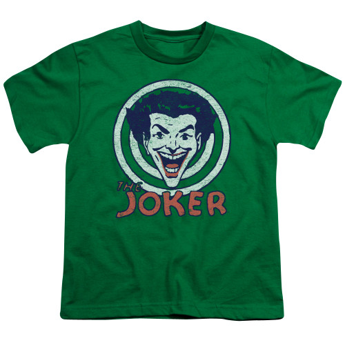 Image for Batman Youth T-Shirt - Joker Joke Target