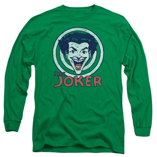 Image for Batman Long Sleeve T-Shirt - Joker Joke Target