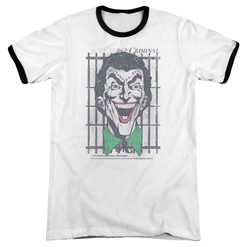 Image for Batman Ringer - Joker Criminal