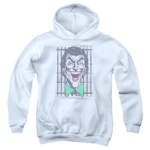 Image for Batman Youth Hoodie - Joker Criminal