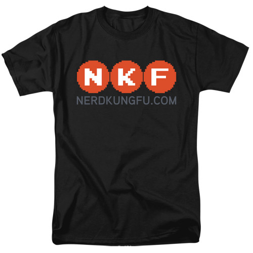 Image for Nerd Kung Fu T-Shirt - Logo