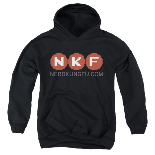 Image for Nerd Kung Fu Youth Hoodie - Logo