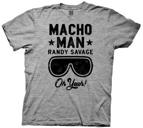 Image for Macho Man T-Shirt - Randy Savage Text