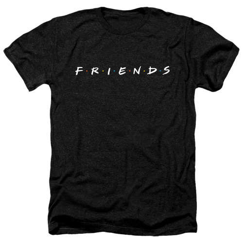 Image for Friends Heather T-Shirt - Show Logo