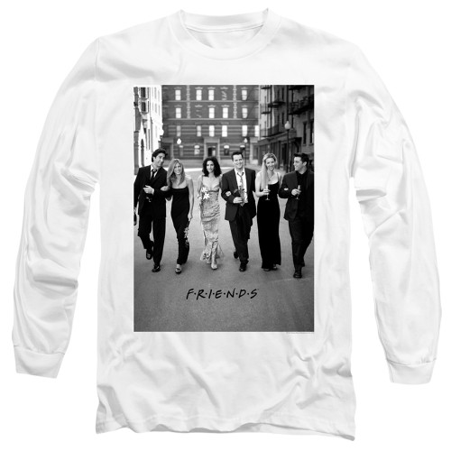 Image for Friends Long Sleeve Shirt - Walk the Streets