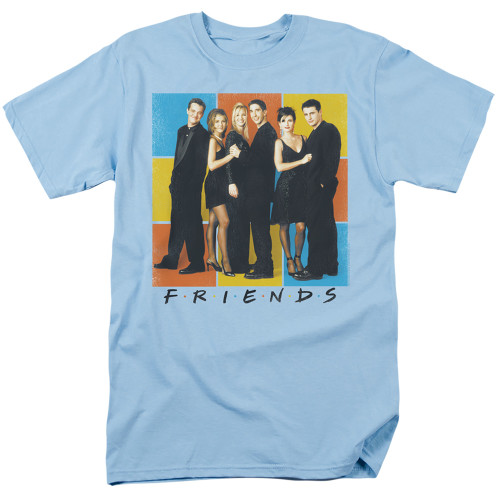 Image for Friends T-Shirt - Color Block of Friends