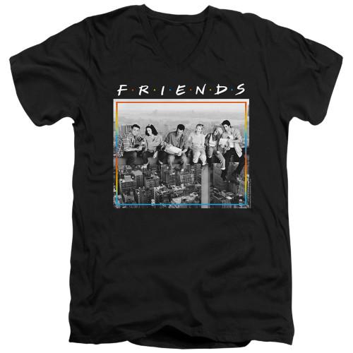 Image for Friends V Neck T-Shirt - Lunch Break