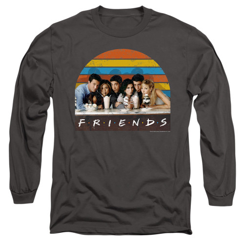 Image for Friends Long Sleeve Shirt - Soda Fountain