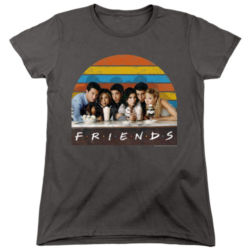 Image for Friends Womans T-Shirt - Soda Fountain