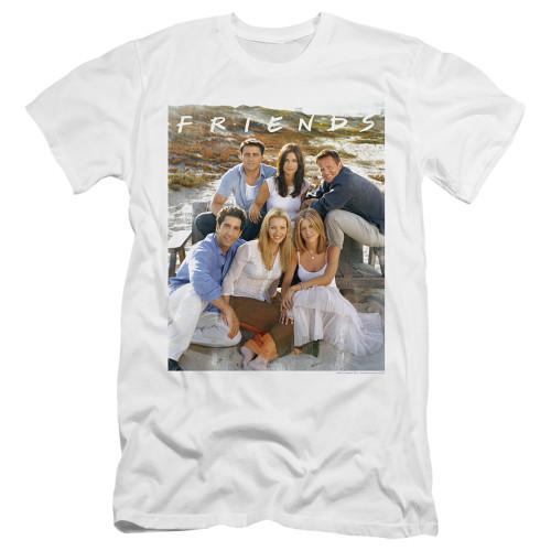 Image for Friends Premium Canvas Premium Shirt - Life's a Beach