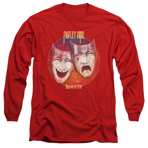 Image for Motley Crue Long Sleeve T-Shirt - Theatre of Pain