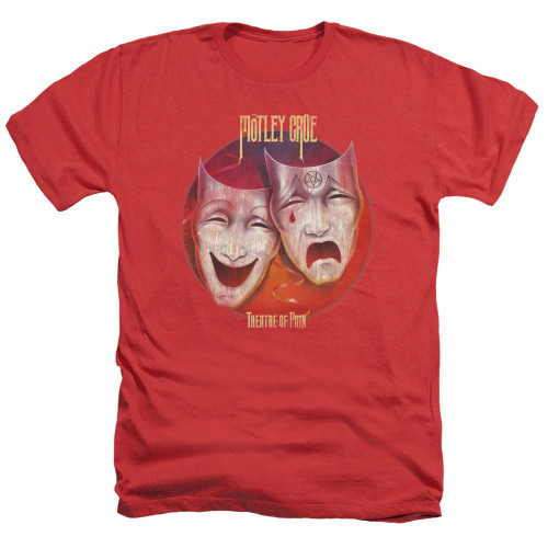Image for Motley Crue Heather T-Shirt - Theatre of Pain