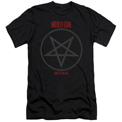 Image for Motley Crue Premium Canvas Premium Shirt - Shout at the Devil
