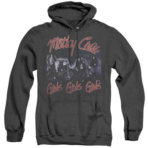 Image for Motley Crue Heather Hoodie - Girls