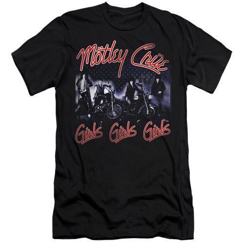Image for Motley Crue Premium Canvas Premium Shirt - Girls