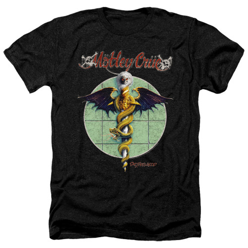 Image for Motley Crue Heather T-Shirt - Dr. Feelgood