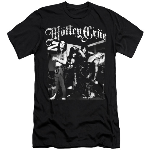 Image for Motley Crue Premium Canvas Premium Shirt - Band Photo