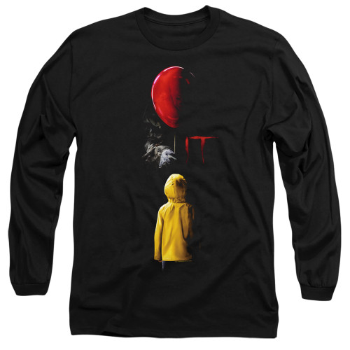 Image for It Long Sleeve Shirt - Red Balloon