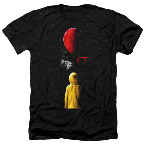 Image for It Heather T-Shirt - Red Balloon
