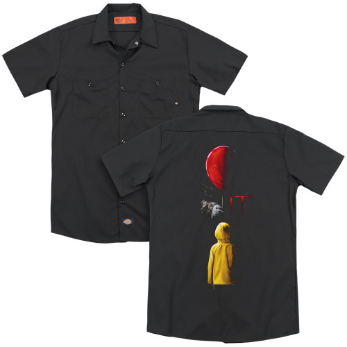 Image for It Dickies Work Shirt - Red Balloon