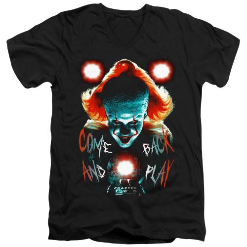 Image for It V Neck T-Shirt - Dead Lights