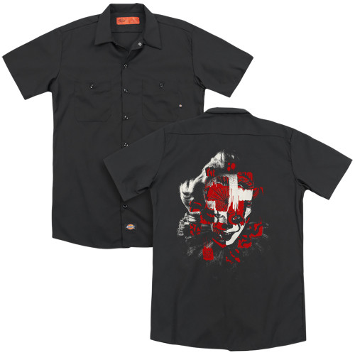 Image for It Chapter 2 Dickies Work Shirt - Come Back and Play