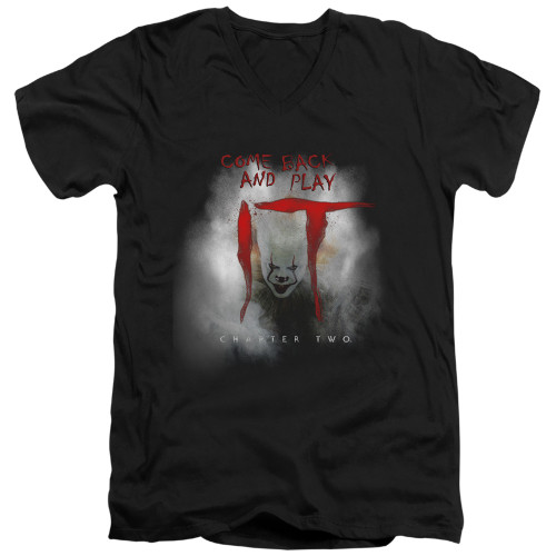 Image for It Chapter 2 V Neck T-Shirt - Come Back