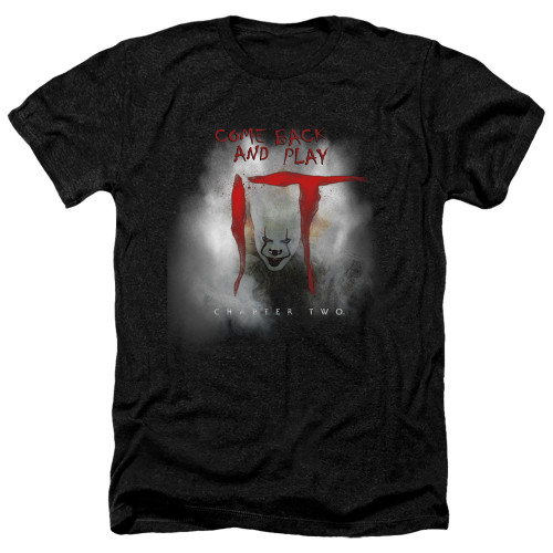 Image for It Chapter 2 Heather T-Shirt - Come Back