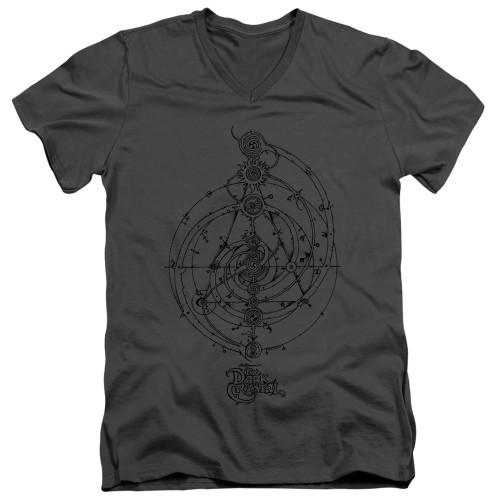 Image for The Dark Crystal V Neck T-Shirt - The Dream Spiral
