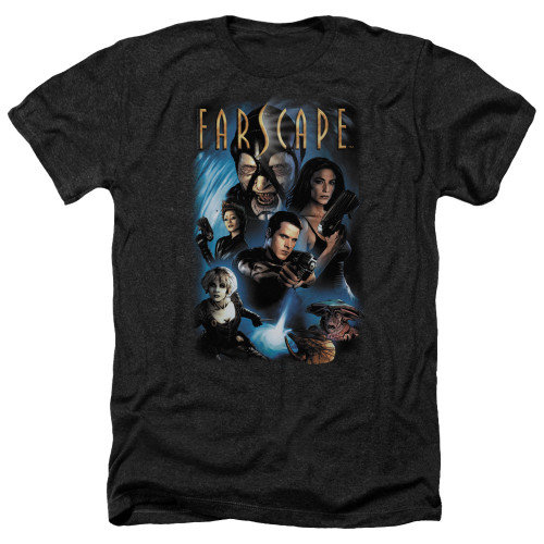 Image for Farscape Heather T-Shirt - Comic Cover