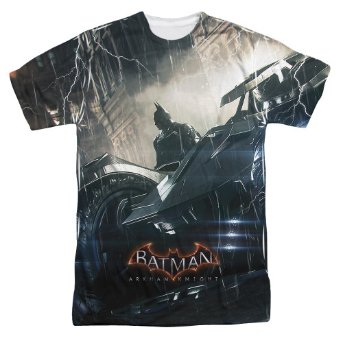Image for Batman Arkham Knight Sublimated T-Shirt - Into the Night 100% Polyester