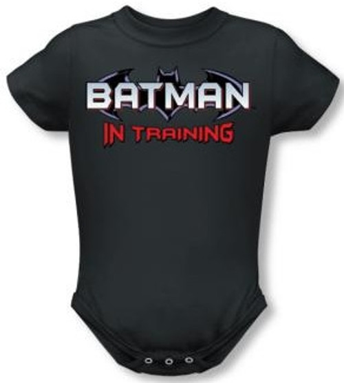 Image for Batman in Training Infant Baby Creeper