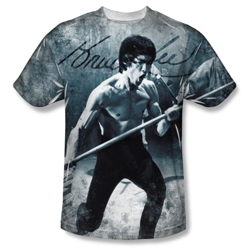 Image for Bruce Lee Sublimated T-Shirt - Whooaa 100% Polyester