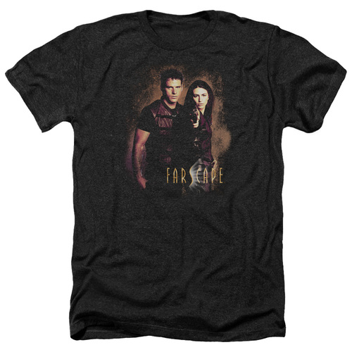 Image for Farscape Heather T-Shirt - Wanted