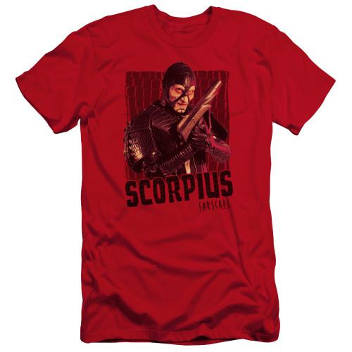 Image for Farscape Premium Canvas Premium Shirt - Scorpius