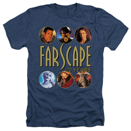 Image for Farscape Heather T-Shirt - 20 Years