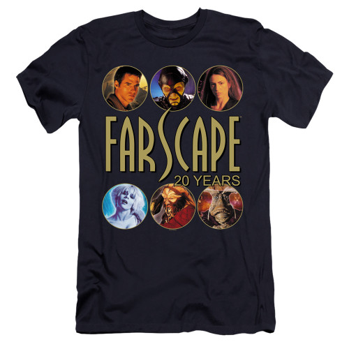 Image for Farscape Premium Canvas Premium Shirt - 20 Years