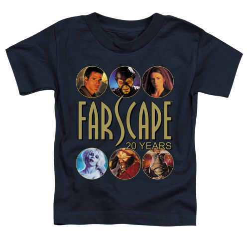 Image for Farscape Toddler T-Shirt - 20 Years