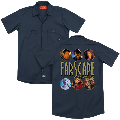 Image for Farscape Dickies Work Shirt - 20 Years