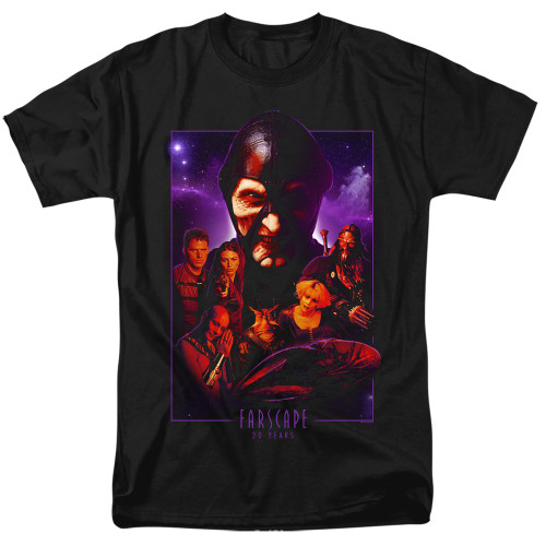 Image for Farscape T-Shirt - 20 Years Collage