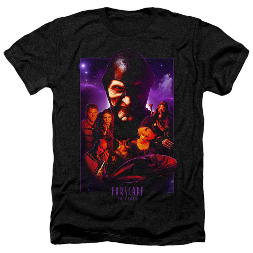 Image for Farscape Heather T-Shirt - 20 Years Collage