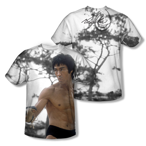 Image Closeup for Bruce Lee Sublimated Youth T-Shirt - Battle Ready