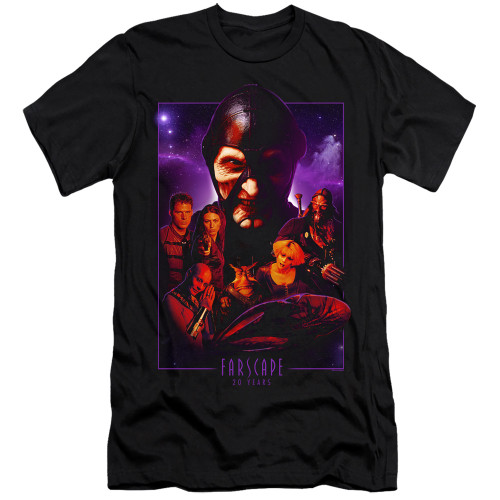Image for Farscape Premium Canvas Premium Shirt - 20 Years Collage