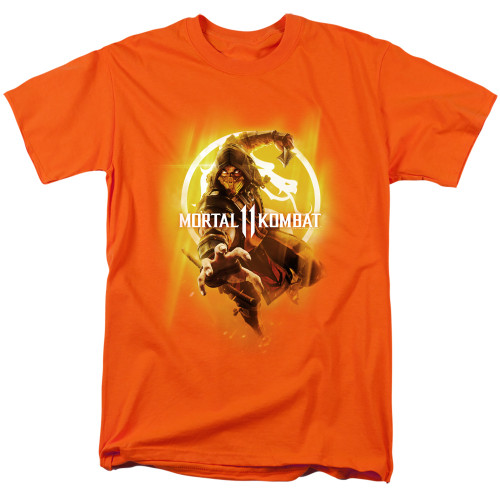 Image for Mortal Kombat XI T-Shirt - From the Flames